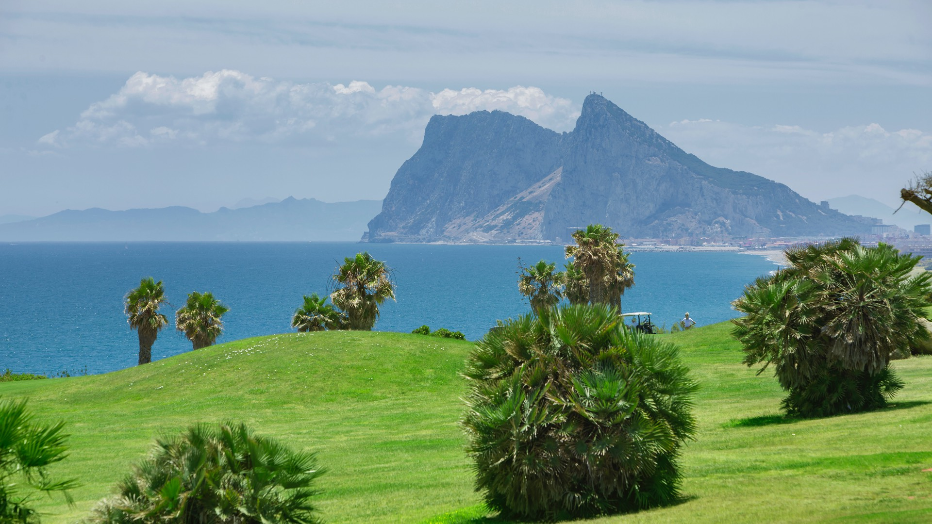 Proximity to Africa and Gibraltar