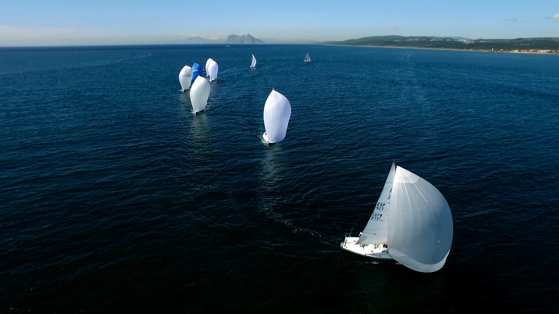 Sailing at Sotogrande