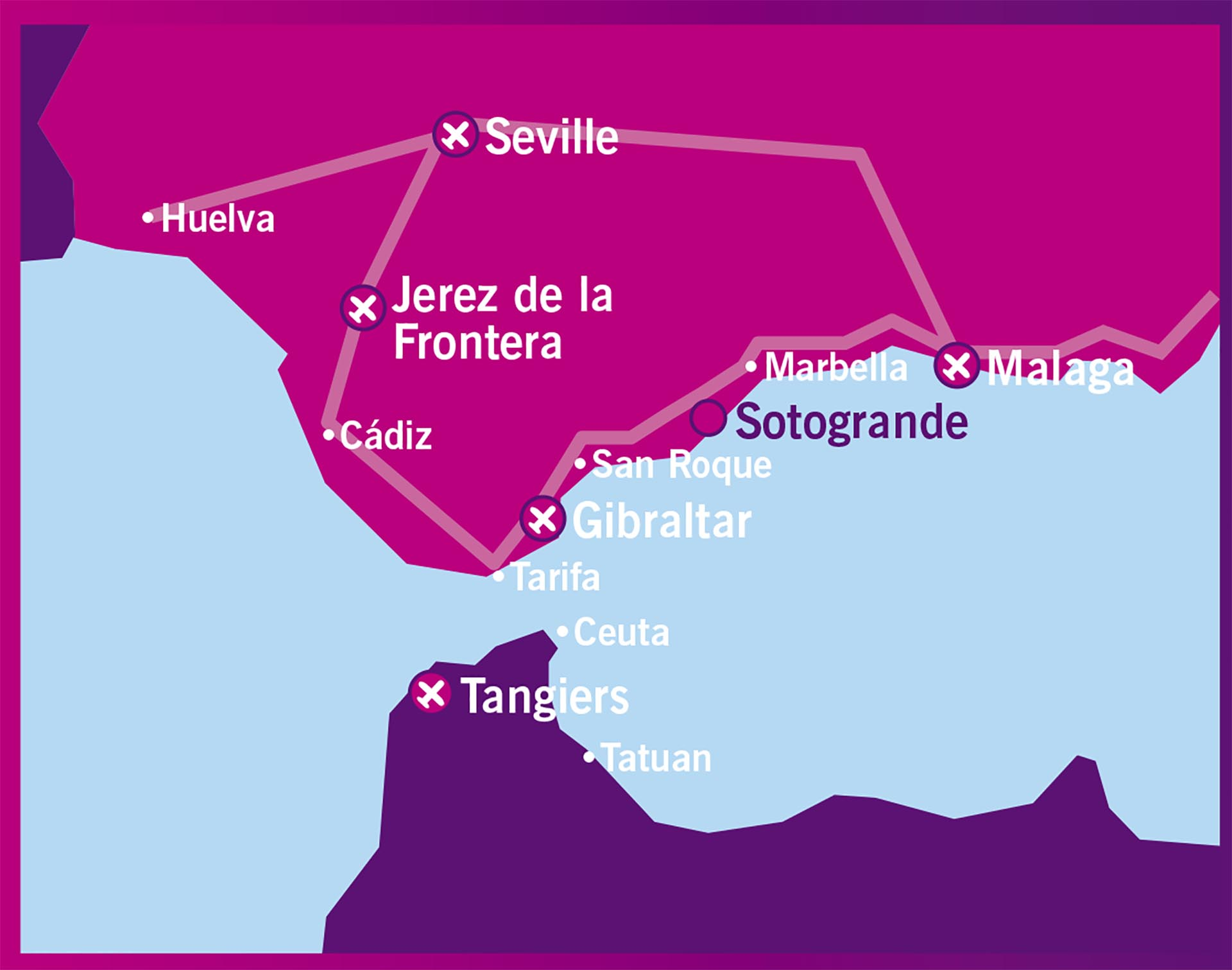 Jerez De La Frontera Karte.Sotogrande Karten Noll Partners Sotogrande Real Estate