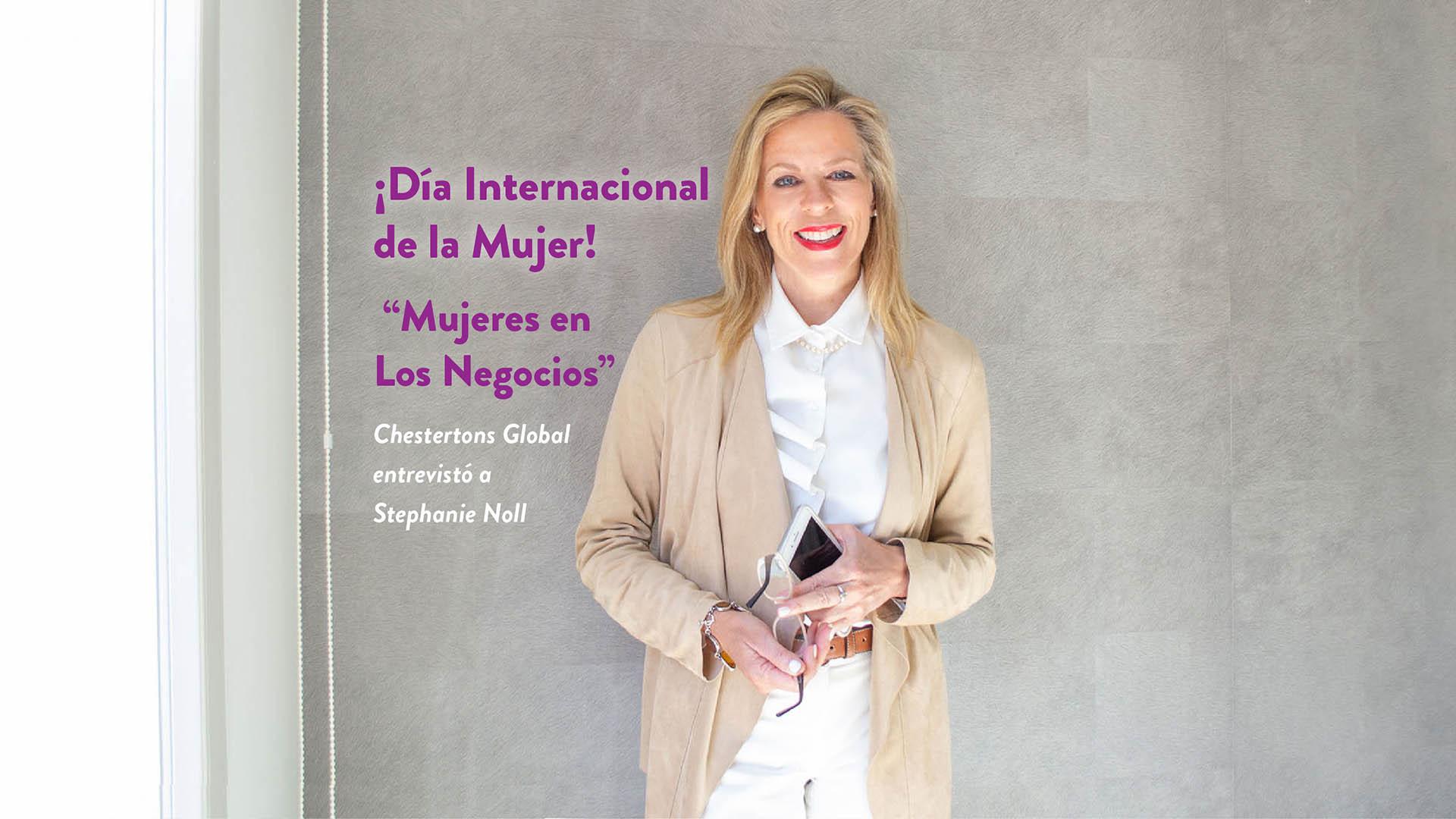 PARTE 1: Día Internacional de la Mujer: Mujeres en los Negocios – Stephanie Noll, Sotogrande.