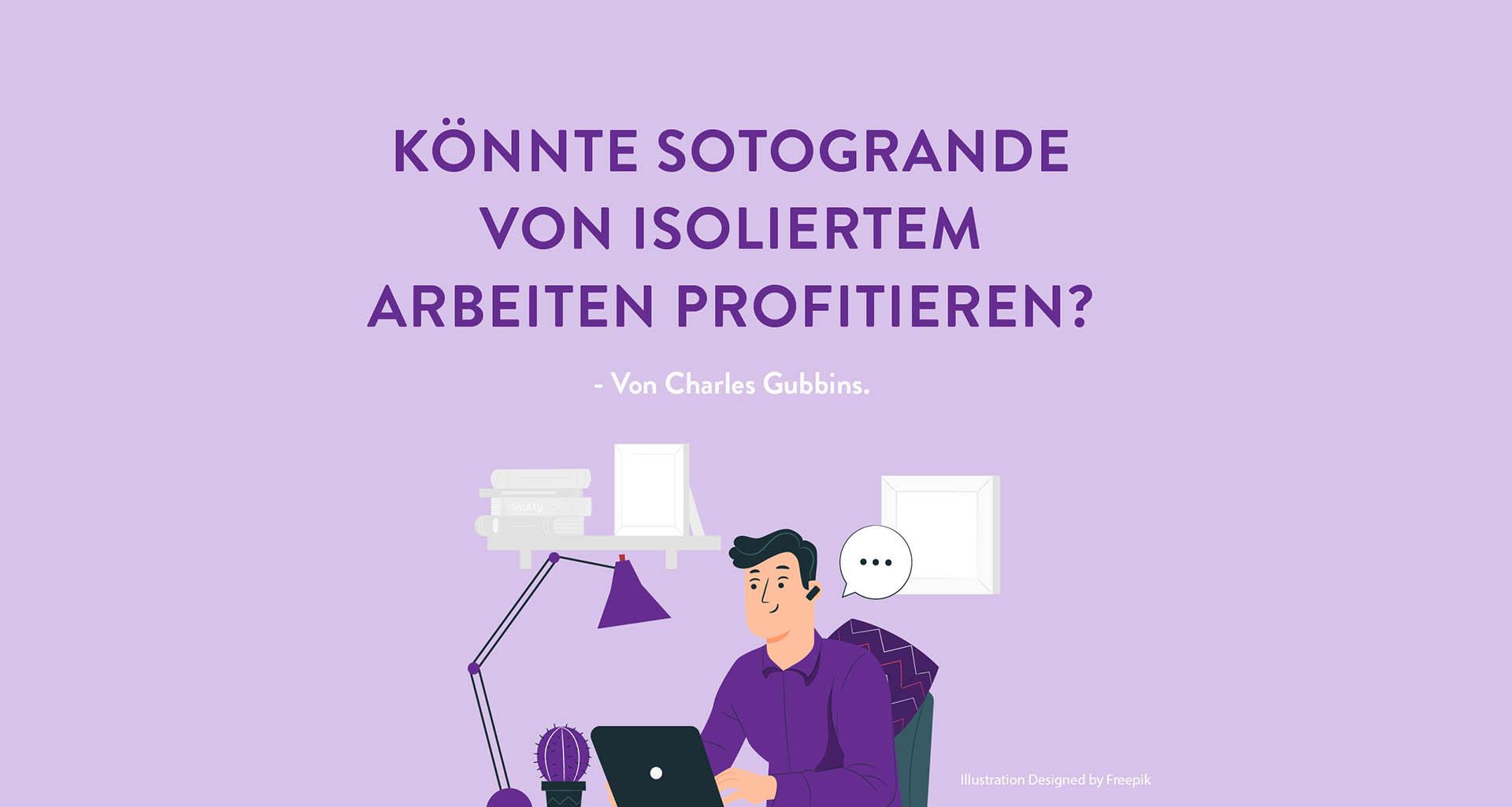 Könnte Sotogrande von isoliertem arbeiten profitieren? - Von Charles Gubbins - Illustration Entworfen von Freepik
