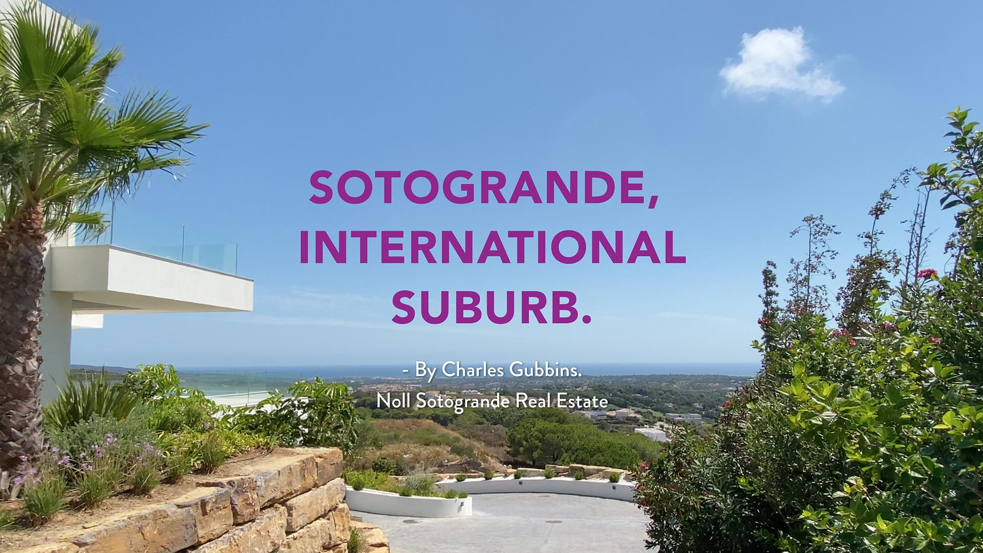 Sotogrande, an international suburb