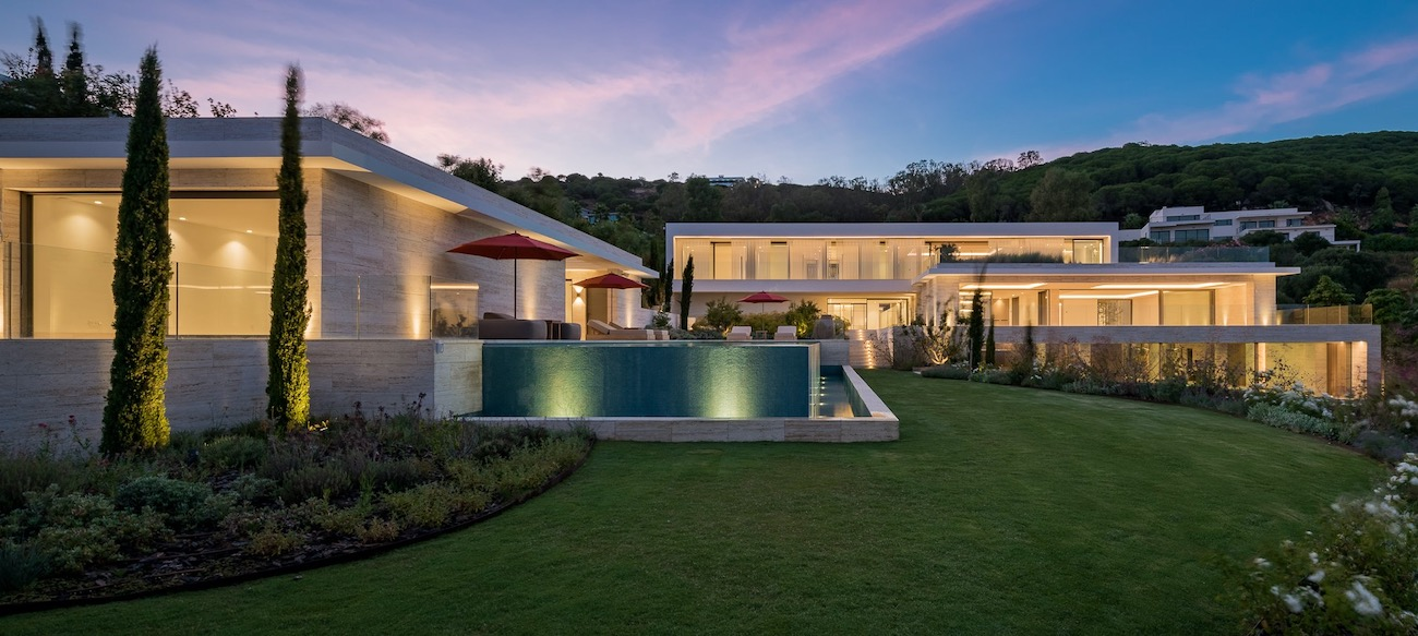 Villa contemporanea Sotogrande Reserva