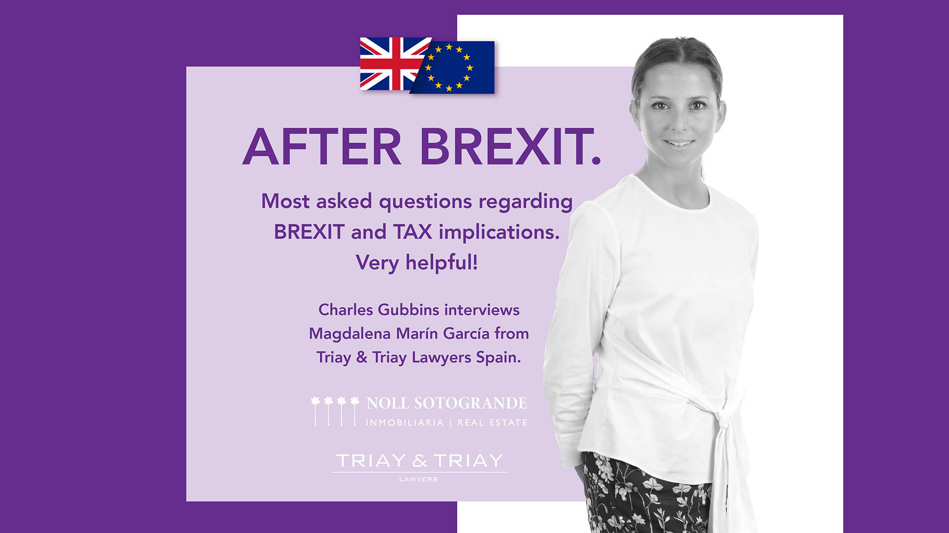 Most asked questions regarding BREXIT and TAX implications, very helpful! Questions and Answers in regard Great Britain citizens post Brexit.