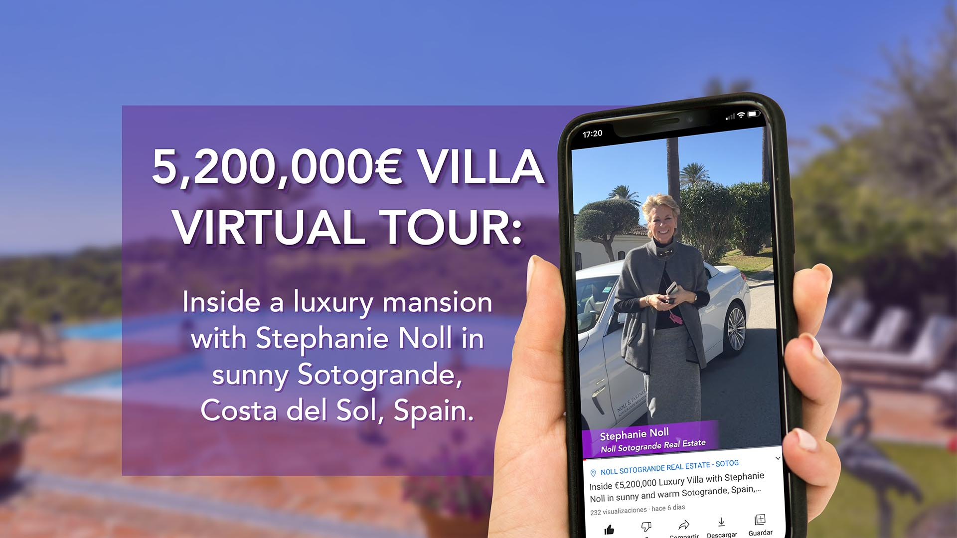 Inside a € 5,200,000 Luxury Villa with Stephanie Noll in sunny Sotogrande winter - Ref. NP01200