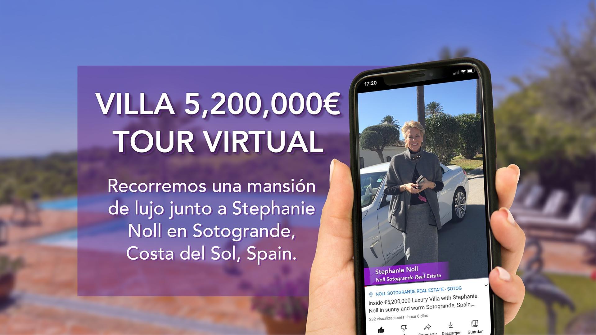 Recorremos una mansión de lujo de 5.200.000€ con Stephanie Noll en el soleado invierno de Sotogrande - Ref. NP01200