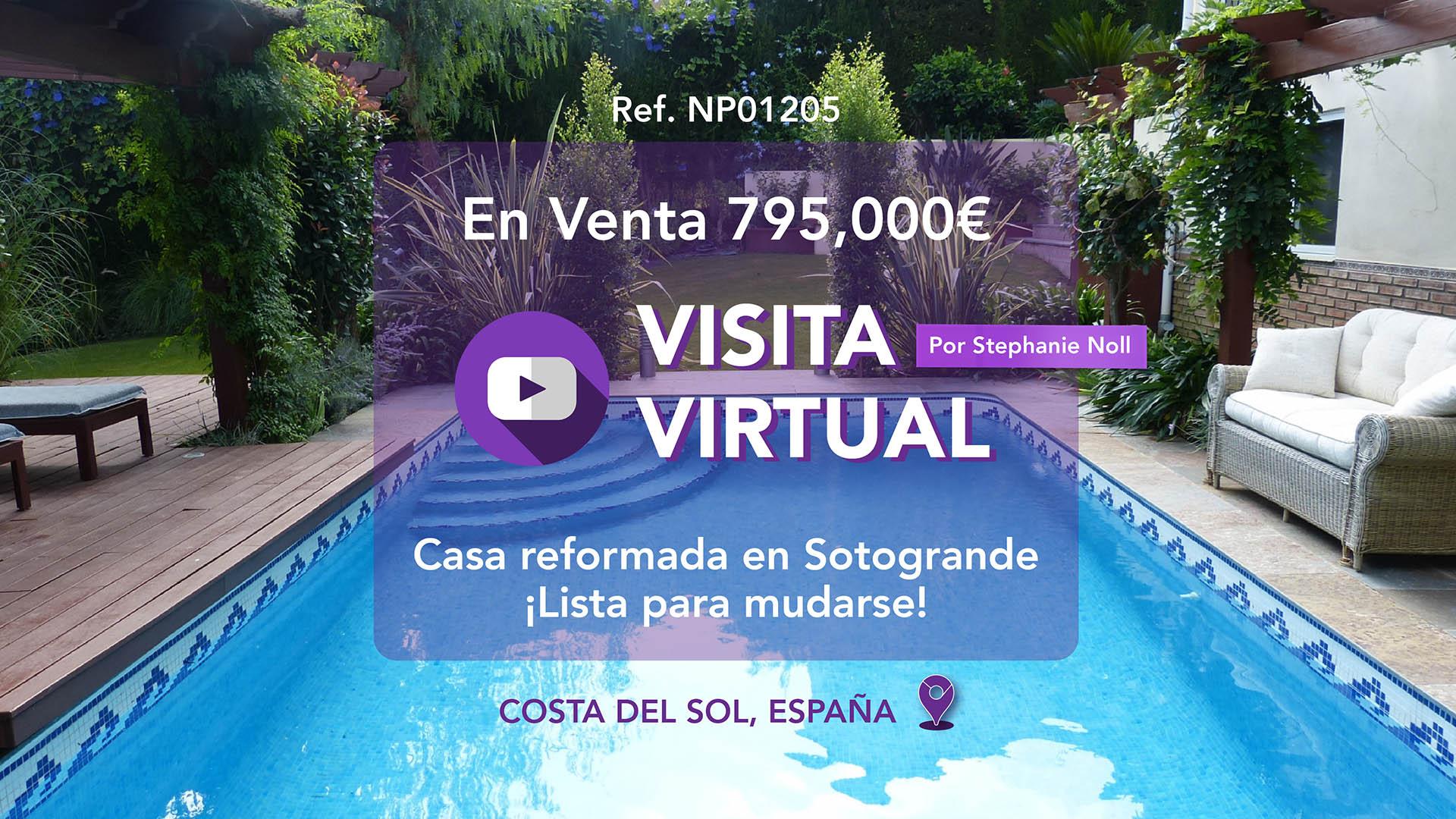 Visita Virtual - ¡Stephanie muestra esta casa familiar en Sotogrande!