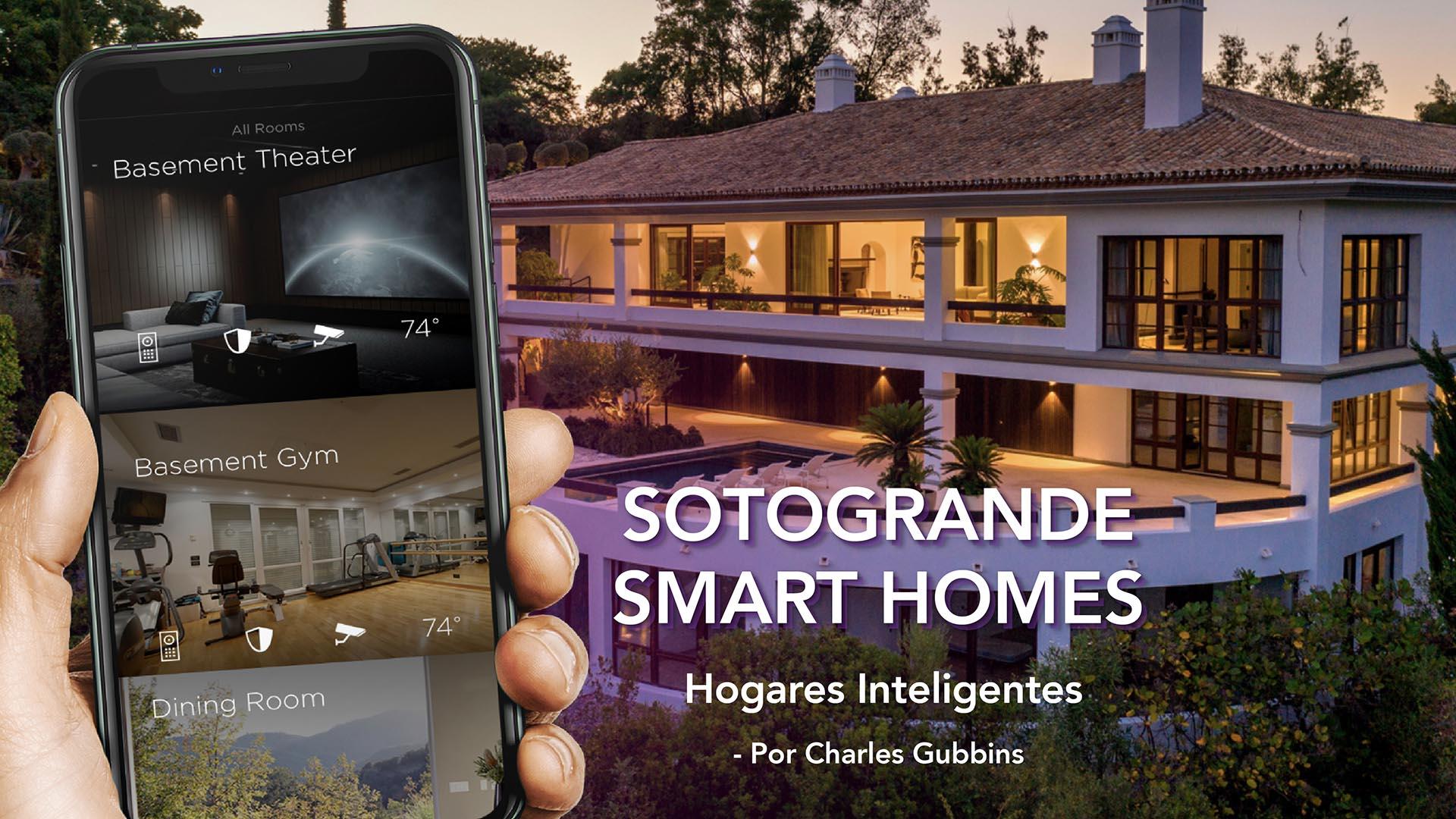 Sotogrande smart homes - Mockup Designed by mockup.store - Freepik