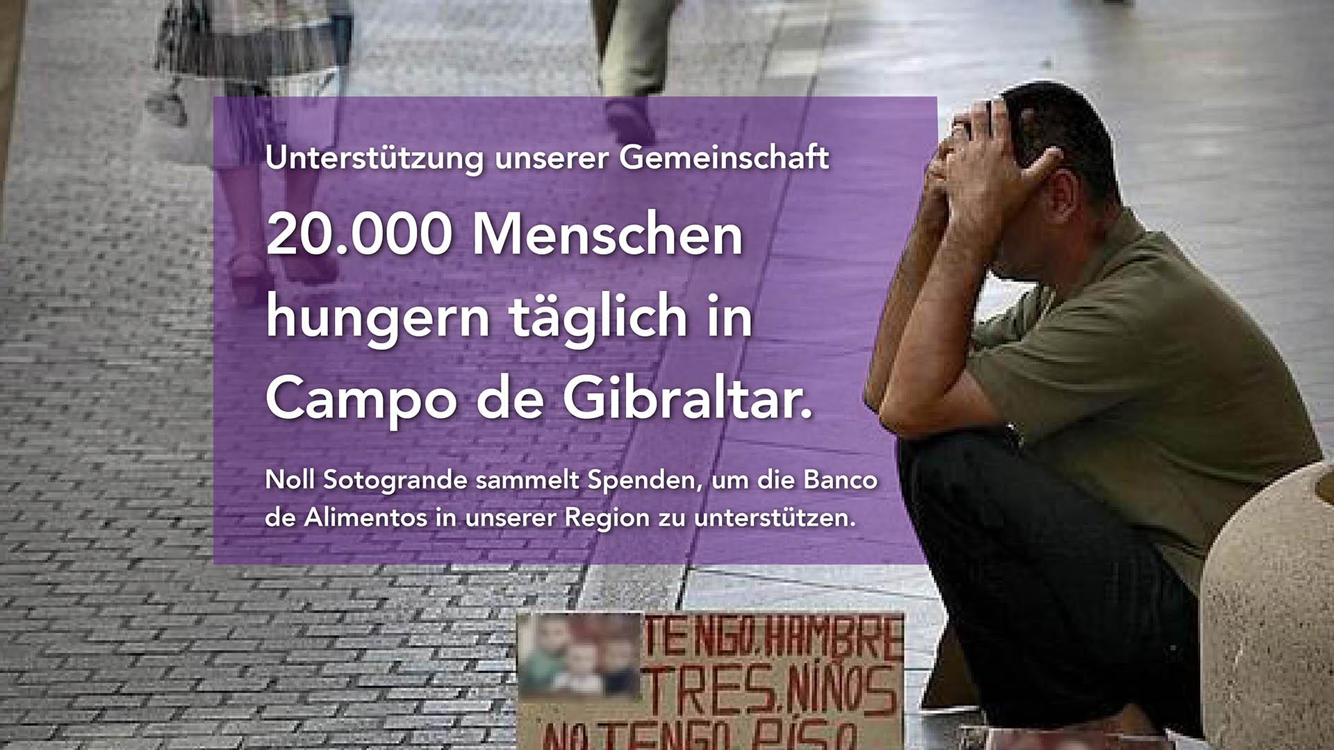 Noll Sotogrande Immobilien unterstützt Banco de Alimentos