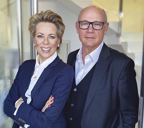 Stephanie Noll & Charles Gubbins at Noll Sotogrande Real Estate.